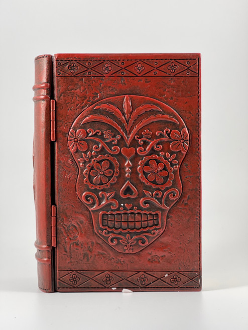 Day of the Dead Sugar Skull Decorative Wood Trinket Box