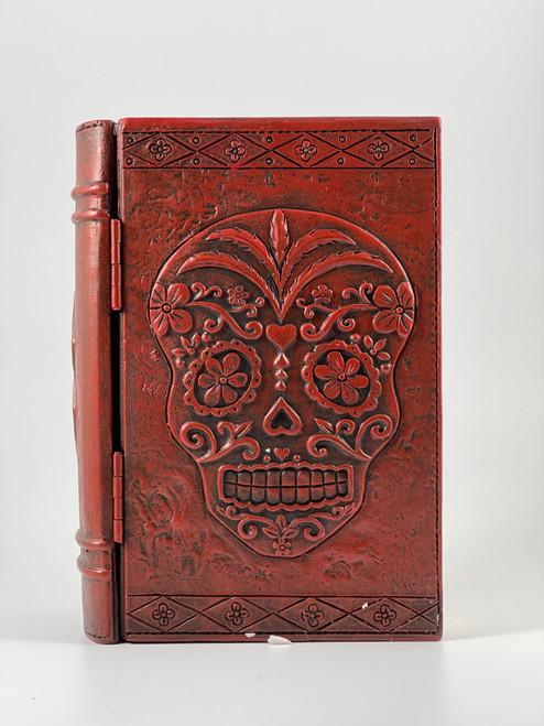 Day of the Dead Sugar Skull Decorative Wood Trinket Box