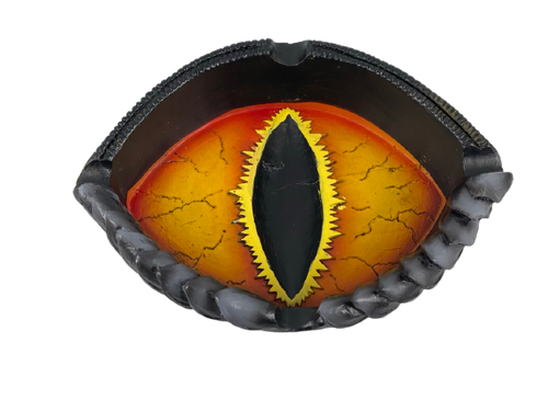 Dragon Eye Polyresin 4 inch Ashtray