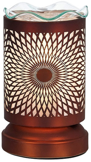 Aromar Copper Mandala Aroma Oil Diffuser Electric Lamp