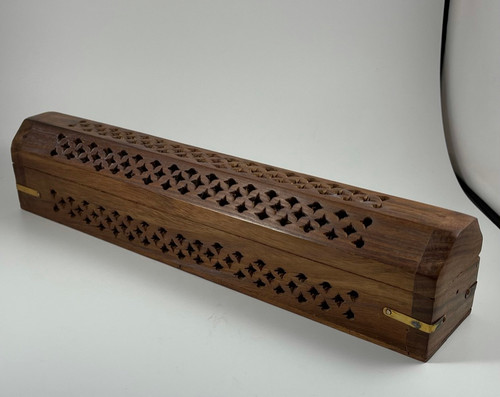 Coffin Style Incense Burner