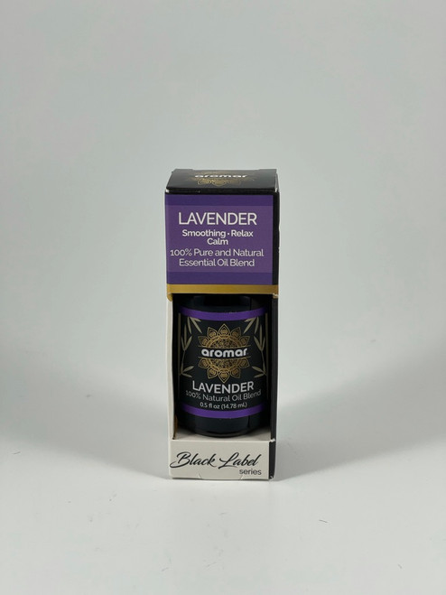 Aromar Black Label Series 100% Pure and Natural Essential Oil Blend 0.5oz/14.78mL Pick Yours (Lavender (Smoothing, Relax, Calm))
