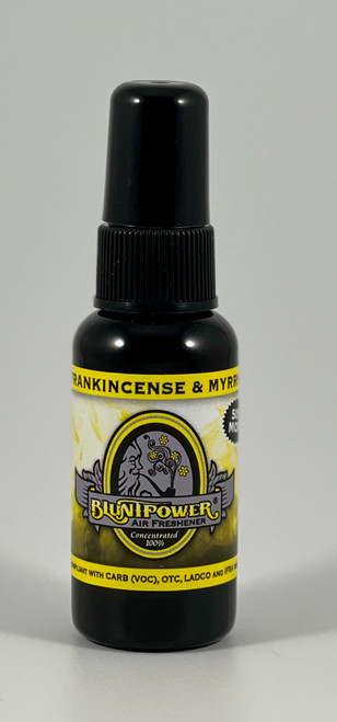 BluntPower - Frankincense and Myrrh Fragrance Home Car Air Freshener Spray