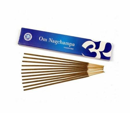 Nag Champa - OM Incense Sticks 15 Gram Box