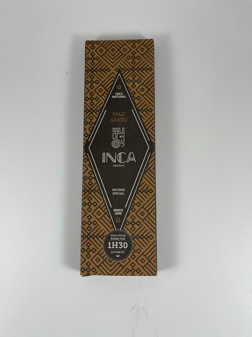 Palo Santo - Inca Aromas Incense 4 Sticks burns for 90 minutes
