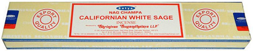 Satya Nag Champa Californian White Sage Incense Sticks 15 gram box