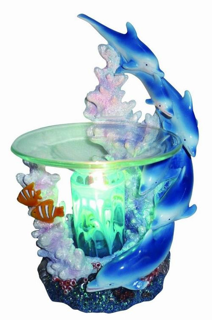 Dolphins Tart Scented Oil Electric Burner Fragrance Lamp