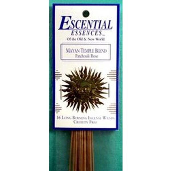 Escential Essences - Mayan Temple - Incense Sticks - 16 Pieces