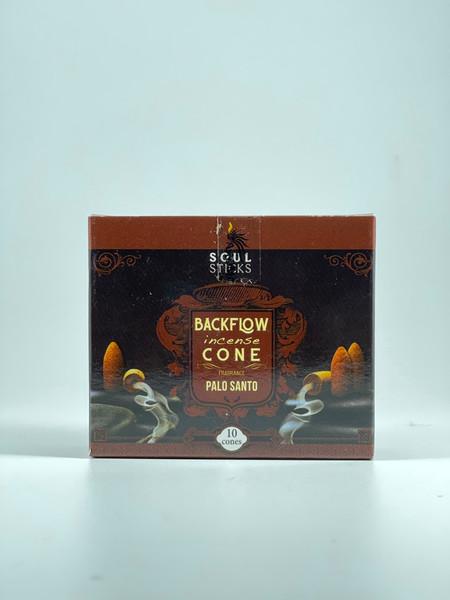 Palo Santo Backflow Incense Cones by Soul Sticks