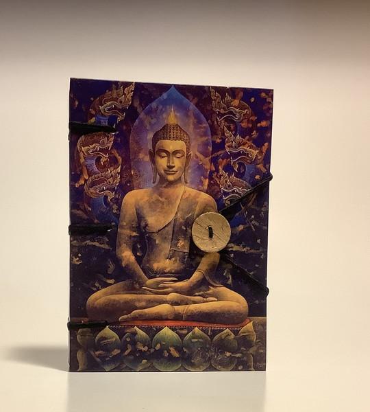Golden Buddha Handmade Journal 5x7 Inches