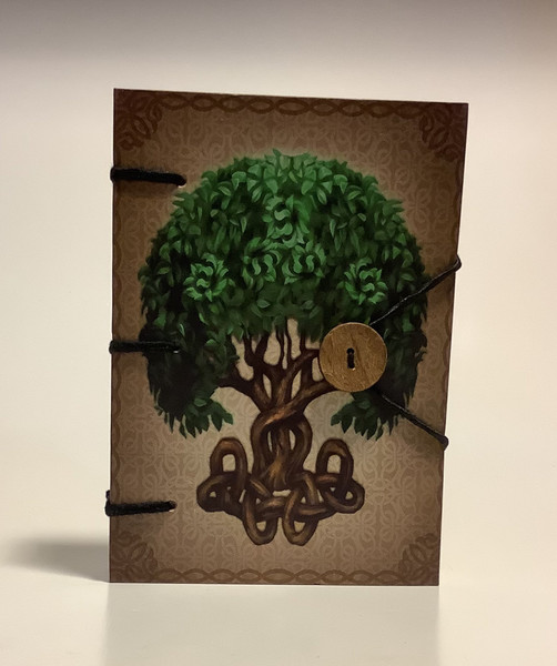 Tree of Life Handmade Journal 5x7 Inches