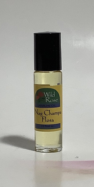 Nag Champa Flora Perfume Body Oil by Wild Rose
