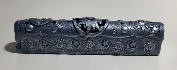 Nose Desserts - Coffin Style Incense Burner Celestial Design