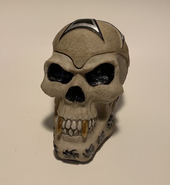 Human Skull Tattoo Iron Cross Replica Covered Candy - Stash Box By Nose Desserts Brand