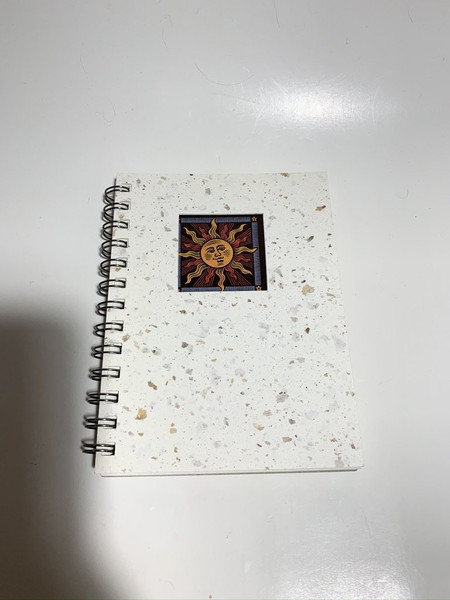 Cafe Journal Hemp Paper 100% Recycled