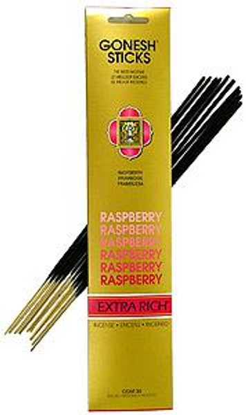 Raspberry Gonesh Incense Sticks