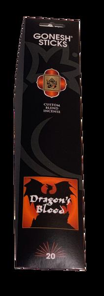 Gonesh Incense Dragon's Blood  Blend 20 Sticks