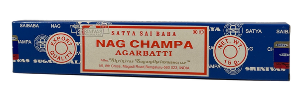 Satya Sai Baba Nag Champa Agarbatti 15 Gram Box