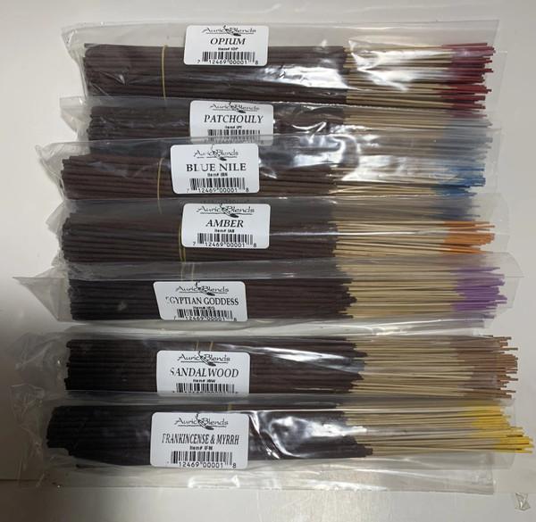 Auric Blends Incense Bundle of 100 Sticks