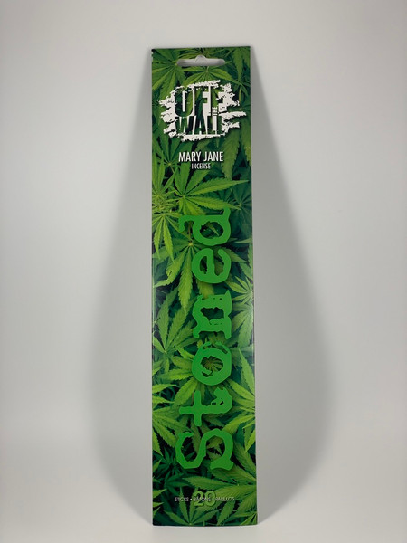 Off the Wall Stoned Mary Jane Incense Sticks by Gonesh