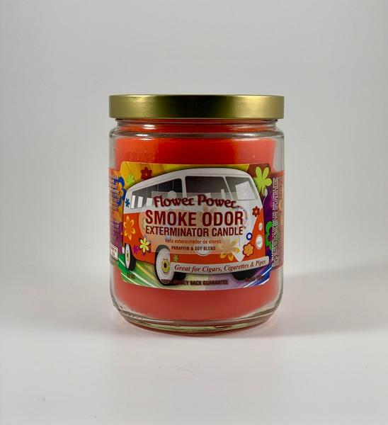 Flower Power - Smoke Odor Exterminator 13oz Candle