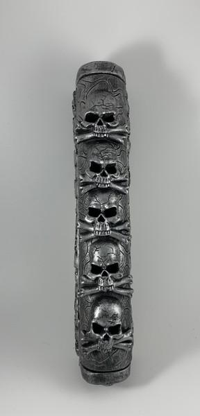 "Skulls 11"" Incense Burner Coffin Box"