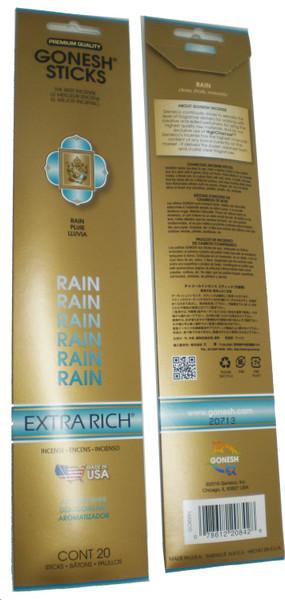 Rain Gonesh Incense Sticks