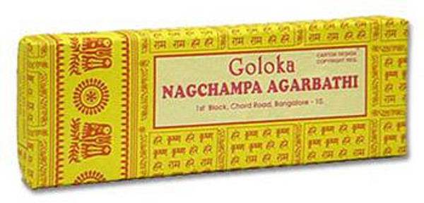 Goloka Gold 100 Gram Box Incense Sticks