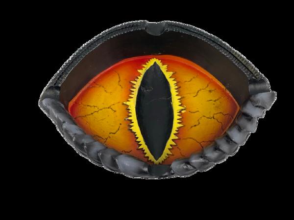 Dragon Eye Polyresin 4 inch Ashtray
