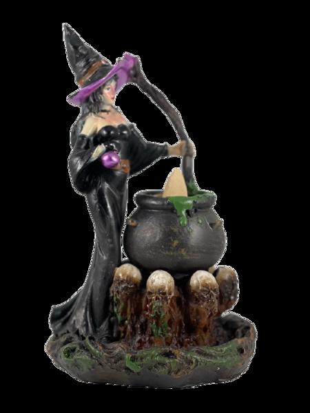 Witch Backflow Incense Burner Holder