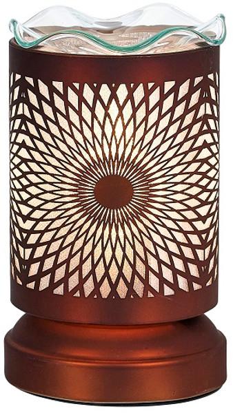 Aromar Copper Mandala Aroma Oil Diffuser Electric Lamp