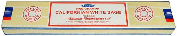 Satya Nag Champa Californian White Sage Incense Sticks 15 gram box