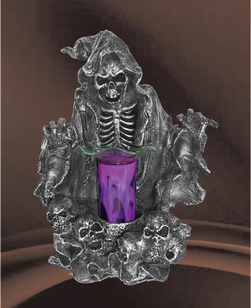 Grim Reaper Tart Scented Oil Aroma Fragrance Lamp w/dimmer switch. Night light.