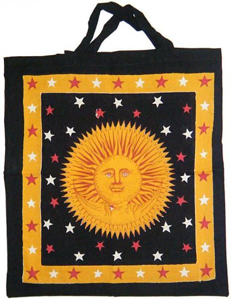 "Sun Gold Golden Cotton Tote Bag 18""x 18"""
