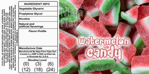 watermelon gummy candy.