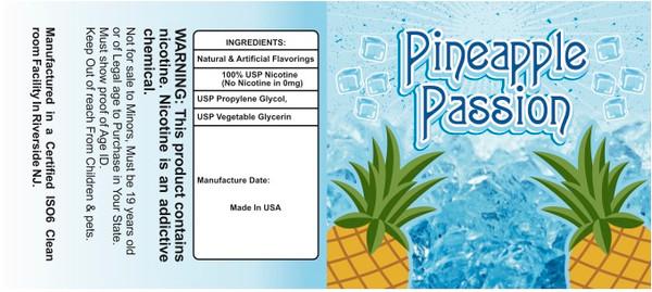 Pineapple Passion On Ice 100ml