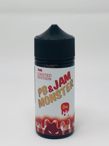 "PB & Strawberry ""Jam Monster"" (100mL)"