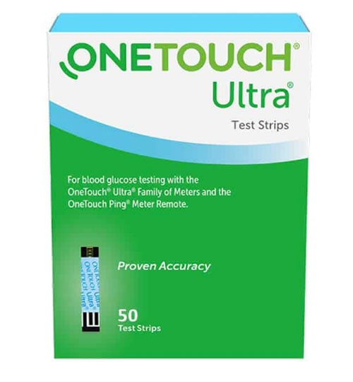 One Touch Ultra Blue Test Strips 50 count
