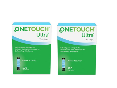 One Touch Ultra Blue Test Strips 200 CT