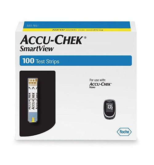 Accu Chek Smartview Test Strips 100 count