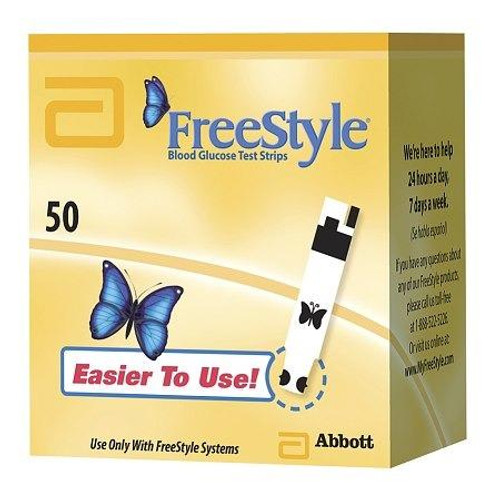 Freestyle Test Strips 50 Ct