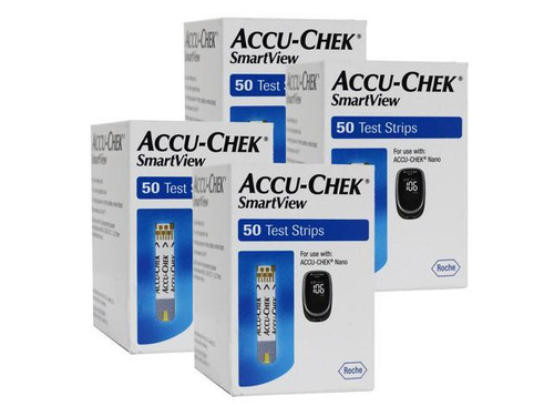 Accu Chek Smartview Test Strips 200 Ct