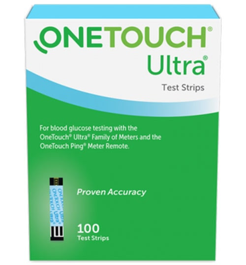 One Touch Ultra Blue Test Strips 100 count