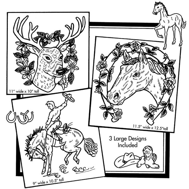 Aunt Martha's #3287 Horses and Deer