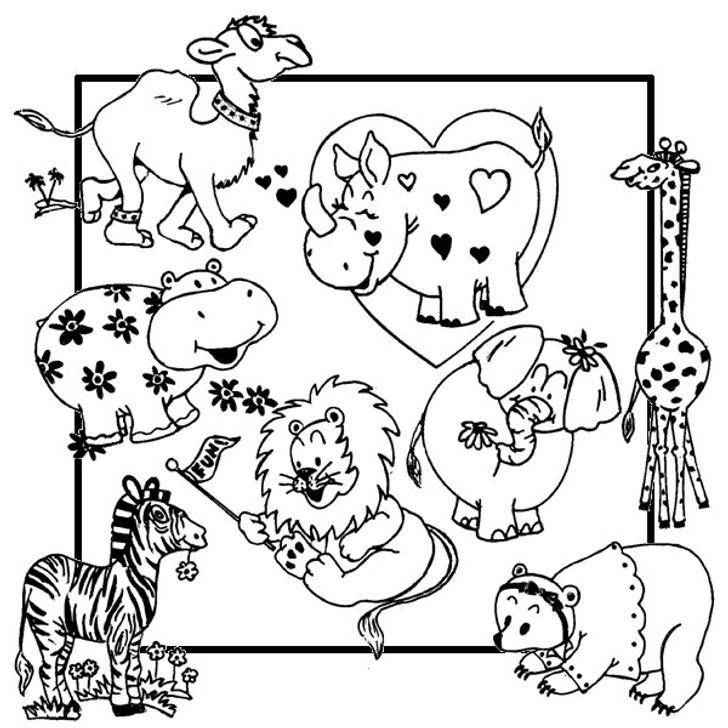 Aunt Martha's #3891 Whimsical Animals