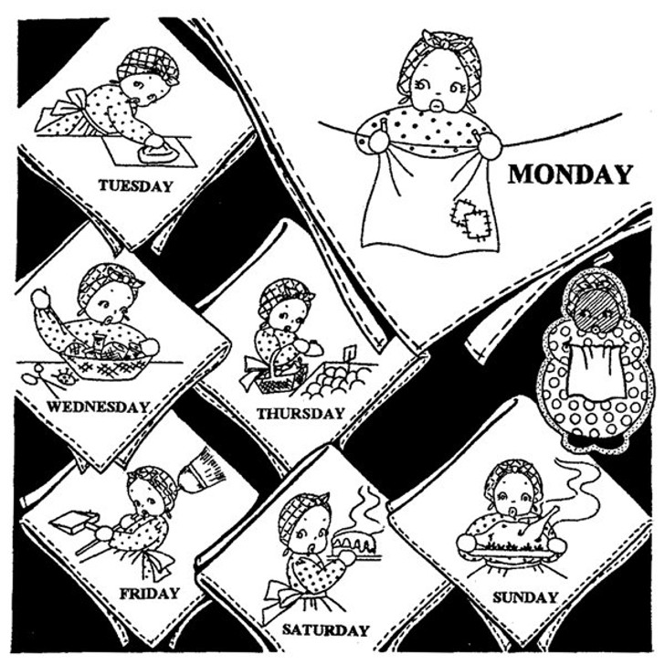 Aunt Martha's #3970 The Merry Maid