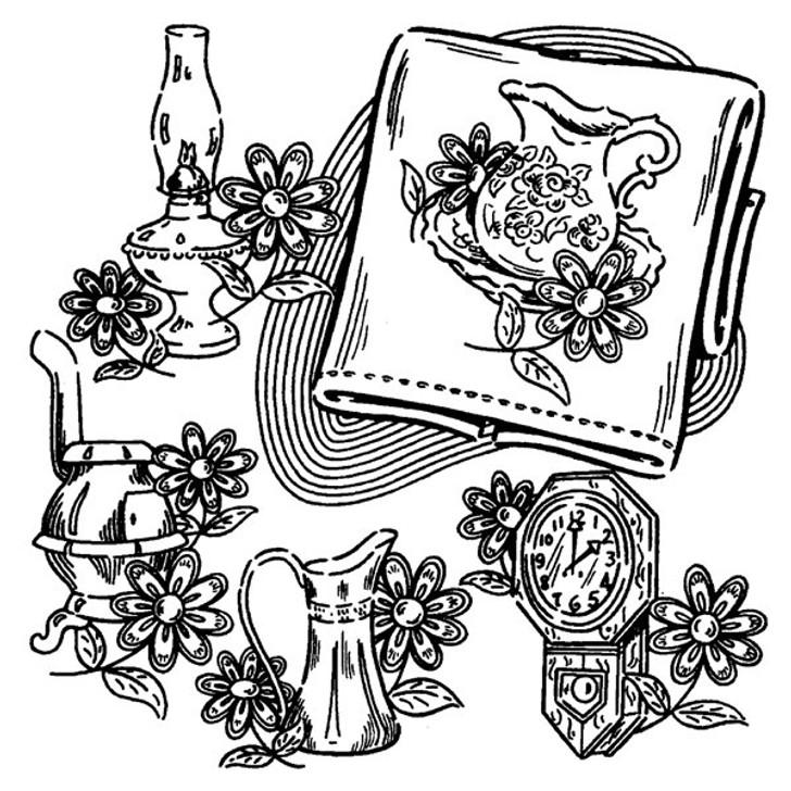 Aunt Martha's #3649 Early American Motifs