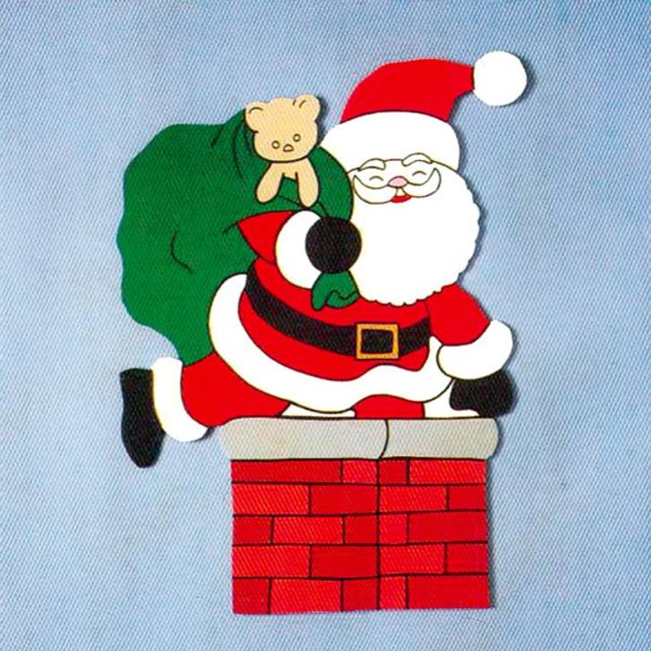 Uncle Bud's Yard Buddies #3003 Santa & Chimney