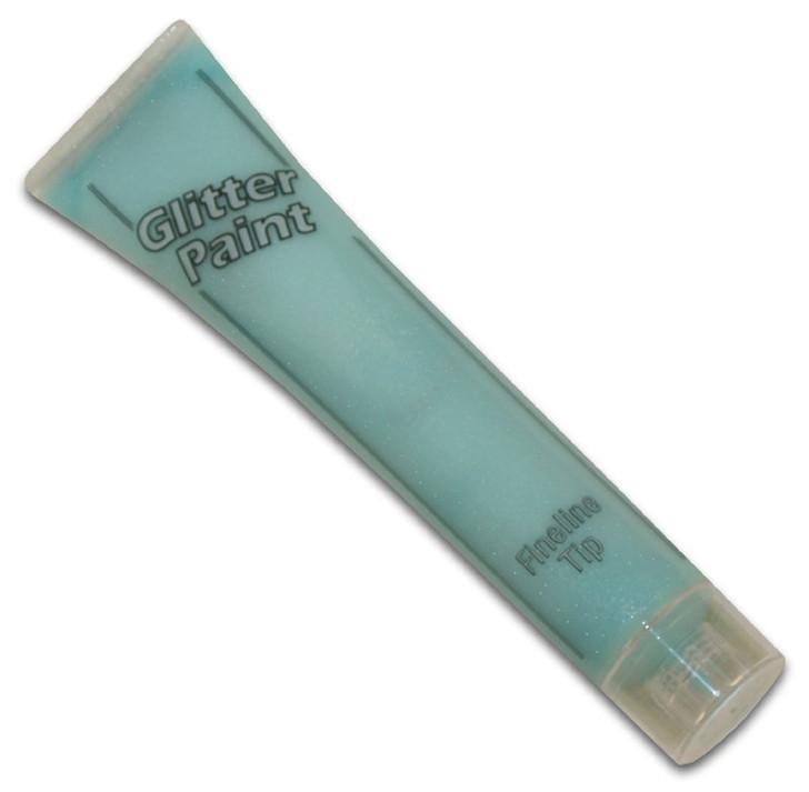 Pastel Blue Glitter Paint