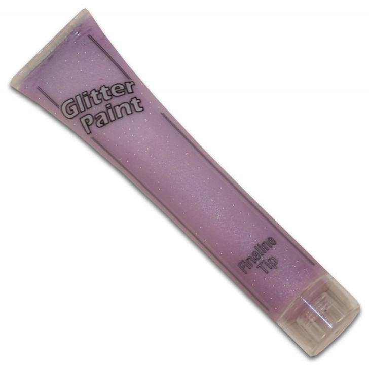 Pastel Lavender Glitter Paint